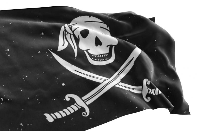Cartoon Jolly Roger - Pirate Flag - Sons of Pirate