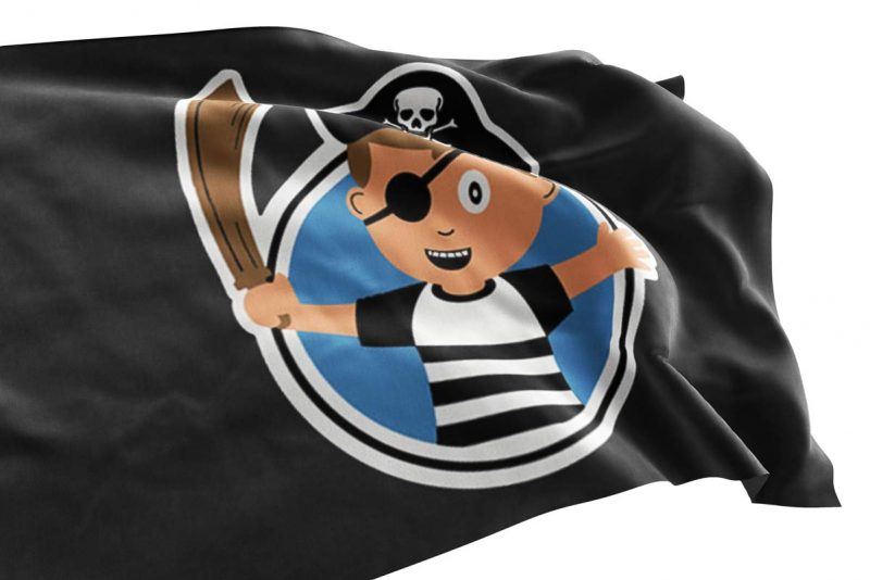 Childrens Pirate Flag - Pirate Flag - Sons of Pirate