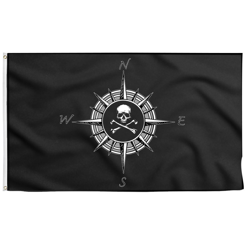 Compass Flag - Pirate Flag - Sons of Pirate