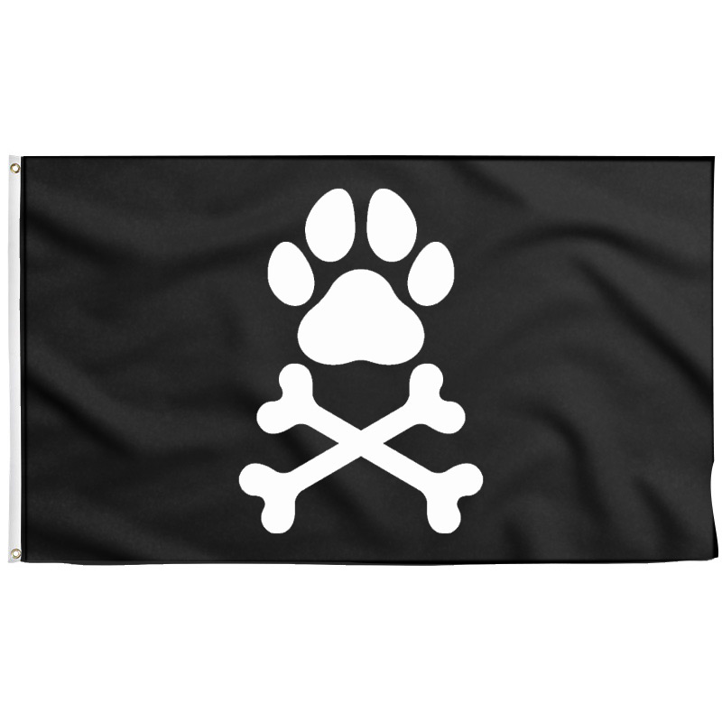 Dog Pirate Flag - Pirate Flag - Sons of Pirate