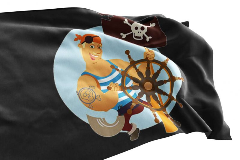 Friendly Pirate Flag - Pirate Flag - Sons of Pirate