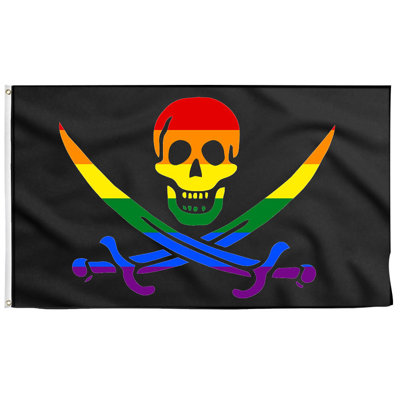 Gay Pirate Flag - Pirate Flag - Sons of Pirate
