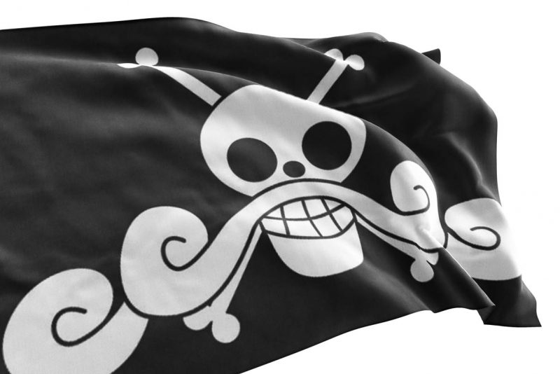 Gol D Roger Jolly Roger - Pirate Flag - Sons of Pirate