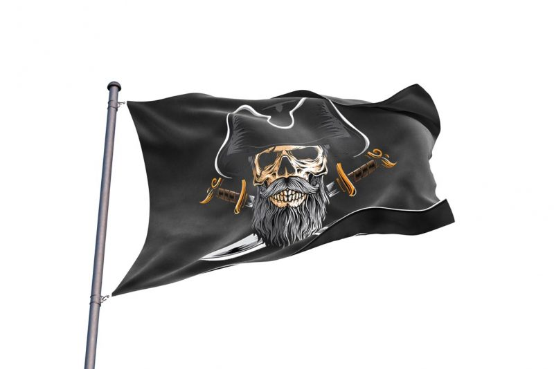 Jolly Pirate Flag - Pirate Flag - Sons of Pirate