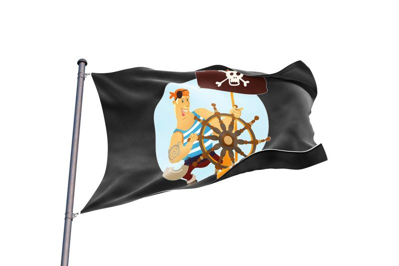 Kid Friendly Pirate Flag - Pirate Flag - Sons of Pirate