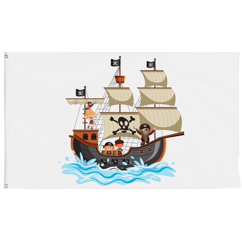 Kids Pirate Flag - Pirate Flag - Sons of Pirate