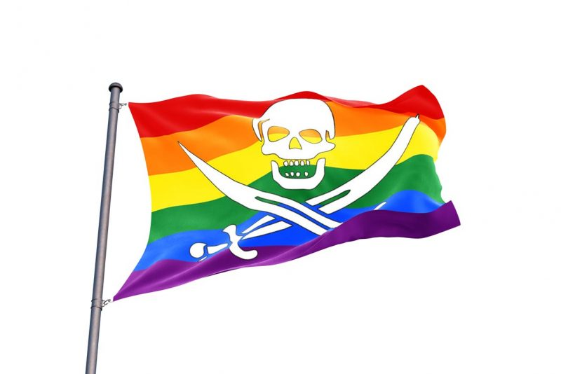 LGBT Pirate Flag - Pirate Flag - Sons of Pirate