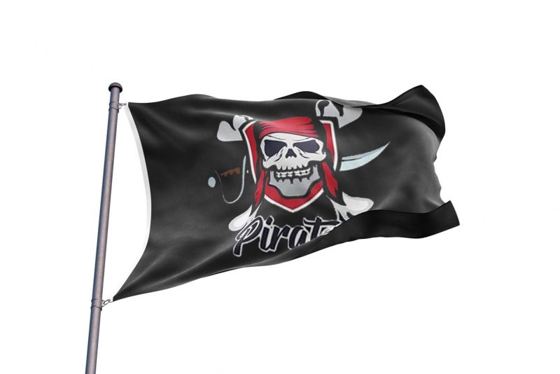 Modern Jolly Roger - Pirate Flag - Sons of Pirate