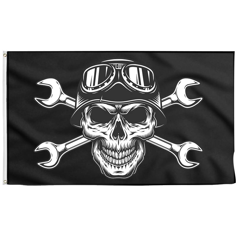 Motorcycle Pirate Flag - Pirate Flag - Sons of Pirate