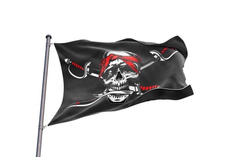 No Quarter Pirate Flag - Pirate Flag - Sons of Pirate