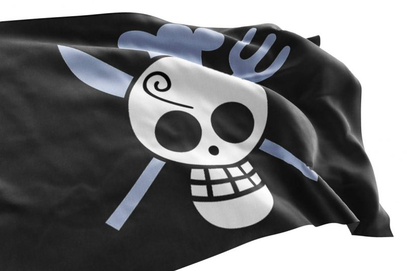 One Piece Sanji Flag - Pirate Flag - Sons of Pirate