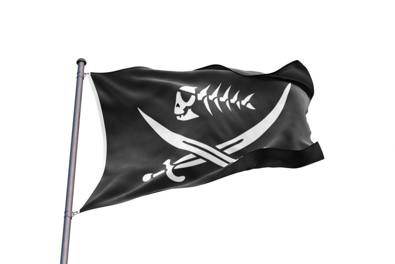 Pirate Fish Flag - Pirate Flag - Sons of Pirate