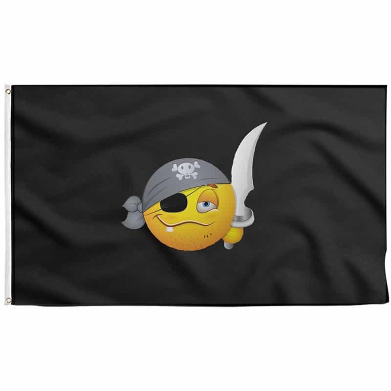 Pirate Flag Emoji - Pirate Flag - Sons of Pirate