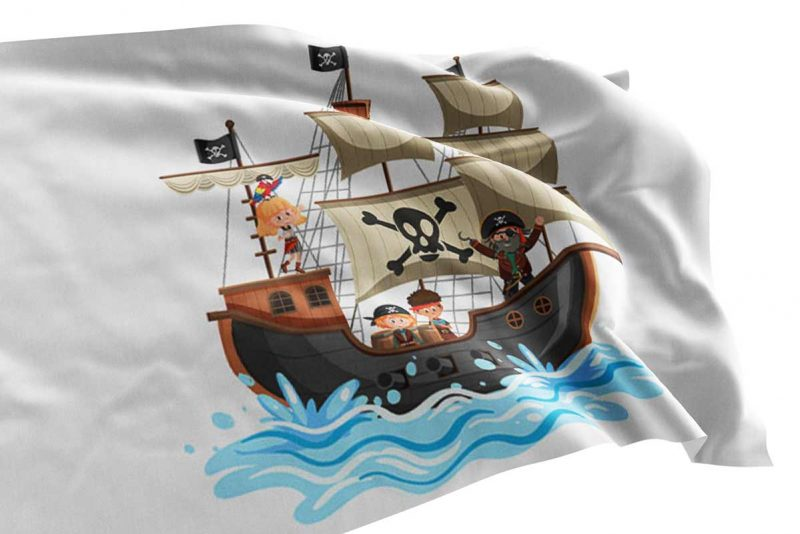 Pirate Flag for Kids - Pirate Flag - Sons of Pirate