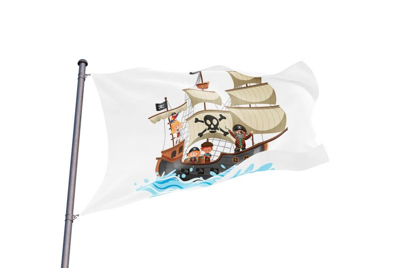 Pirate Flag Kids - Pirate Flag - Sons of Pirate