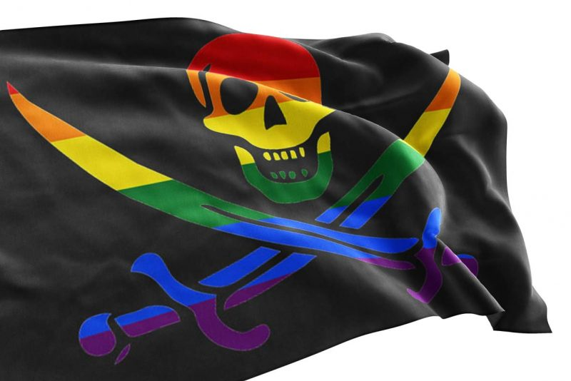 Pirate Pride Flag - Pirate Flag - Sons of Pirate