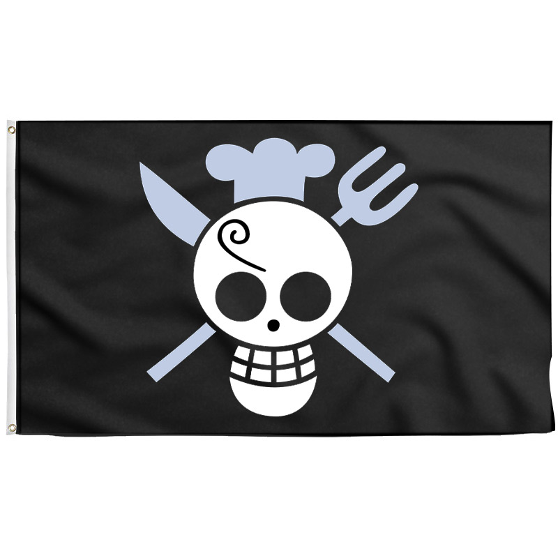 Sanji Jolly Roger - Pirate Flag - Sons of Pirate