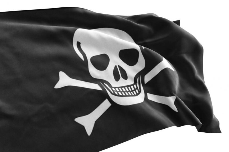 Simple Pirate Flag - Pirate Flag - Sons of Pirate
