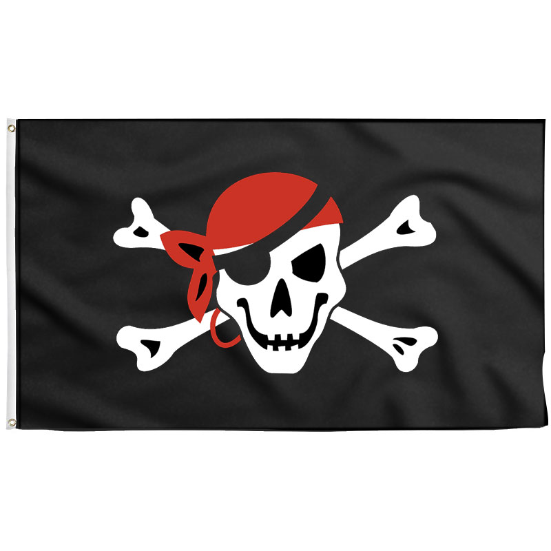 Skull and Bones Pirate Flag - Pirate Flag - Sons of Pirate