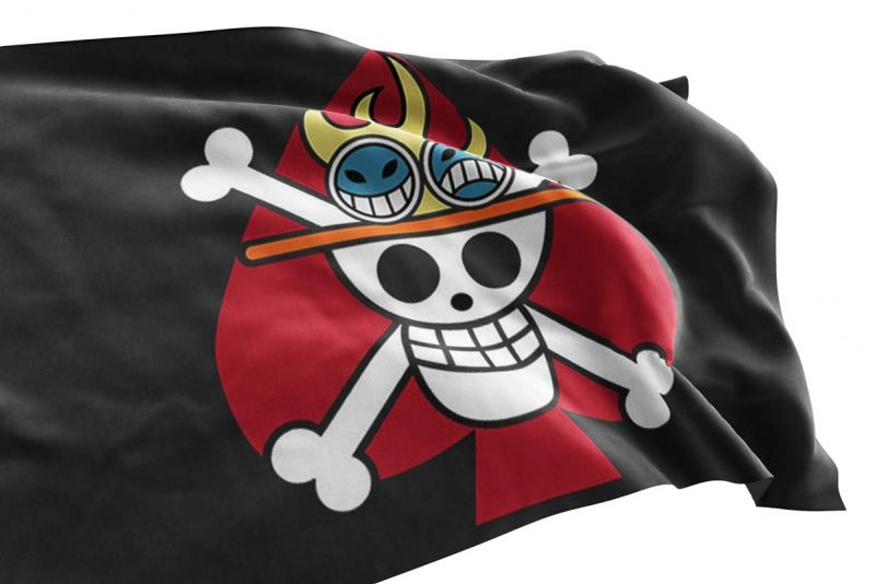 Spade Flag - Pirate Flag - Sons of Pirate