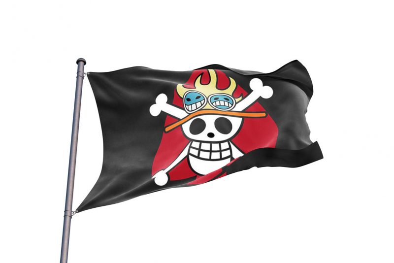 Spade Pirates Jolly Roger - Pirate Flag - Sons of Pirate