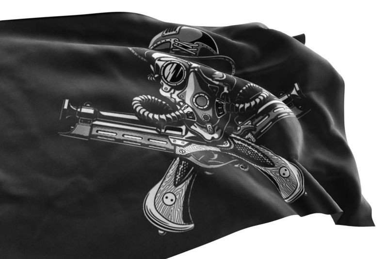 Steampunk Pirate Flag - Pirate Flag - Sons of Pirate