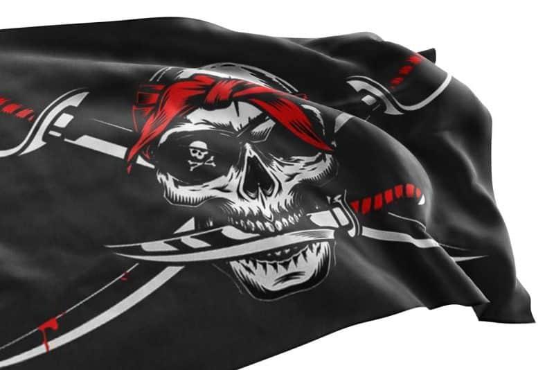 The Flag of No Quarter - Pirate Flag - Sons of Pirate