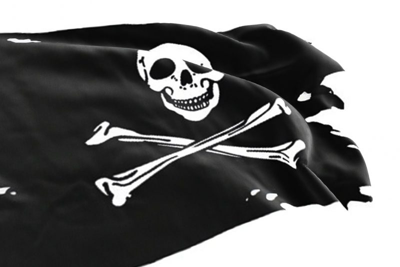 Torn Jolly Roger - Pirate Flag - Sons of Pirate