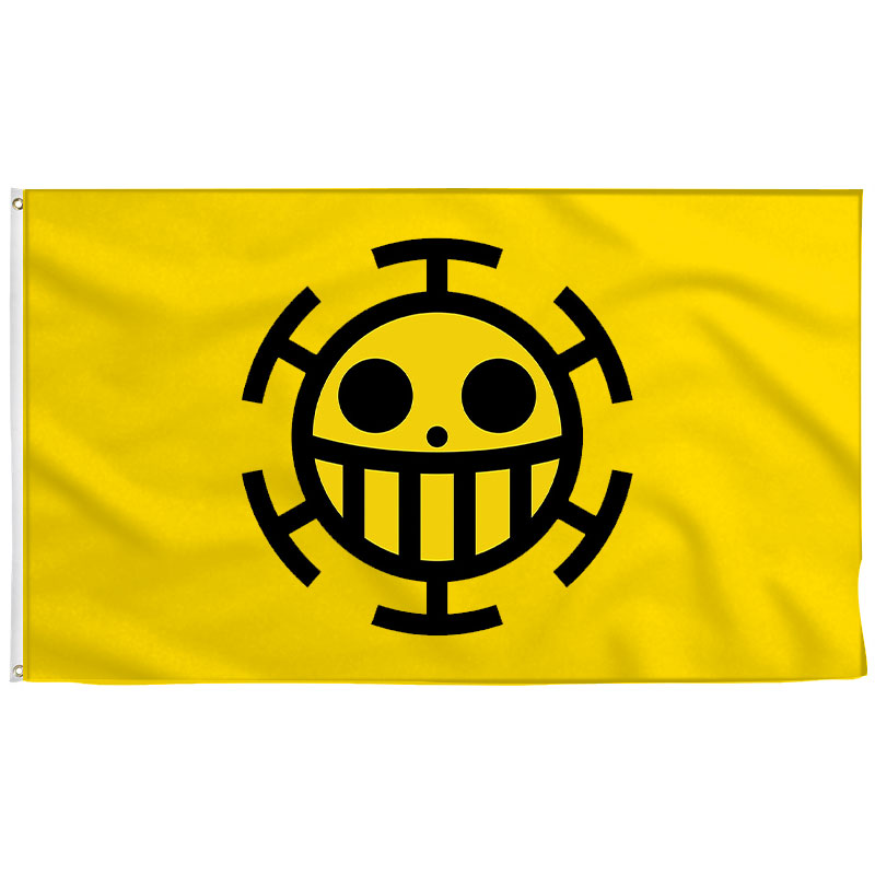 Trafalgar Law Flag - Pirate Flag - Sons of Pirate