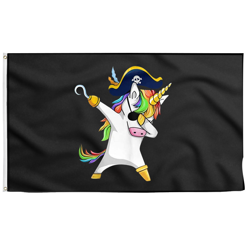 Unicorn Pirate Flag - Pirate Flag - Sons of Pirate