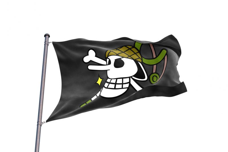 Usopp Flag - pirate flag - Sons of Pirate