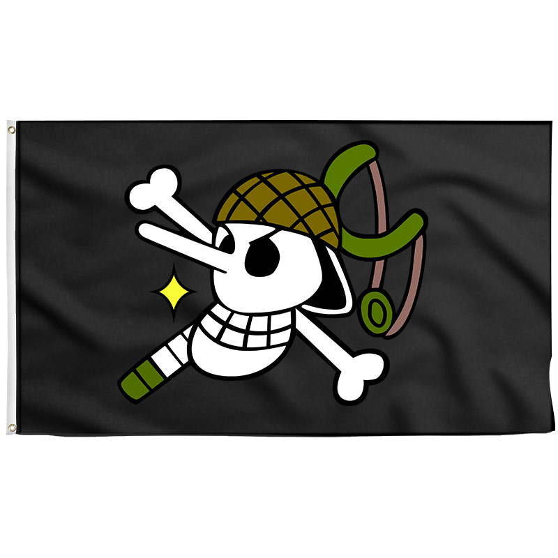 Usopp Jolly Roger - pirate flag - Sons of Pirate