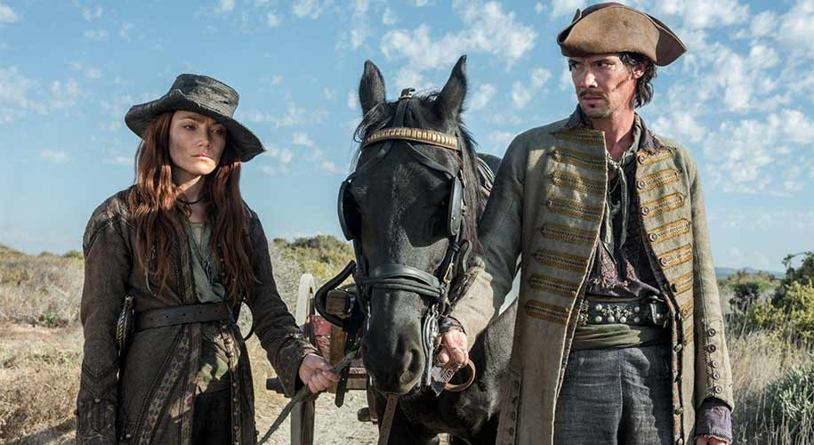 Anne Bonny and Calico Jack