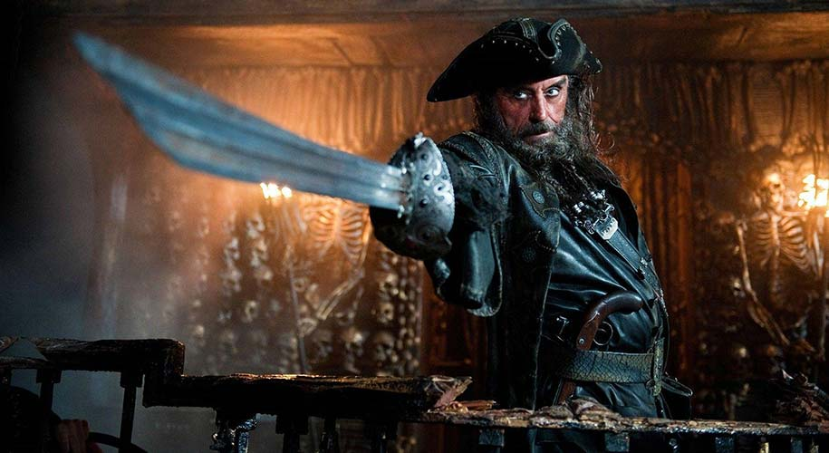 Blackbeard Pirates of the Caribbean