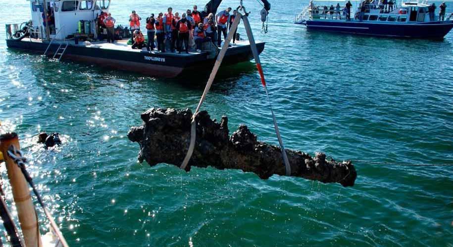 Blackbeard's ship found