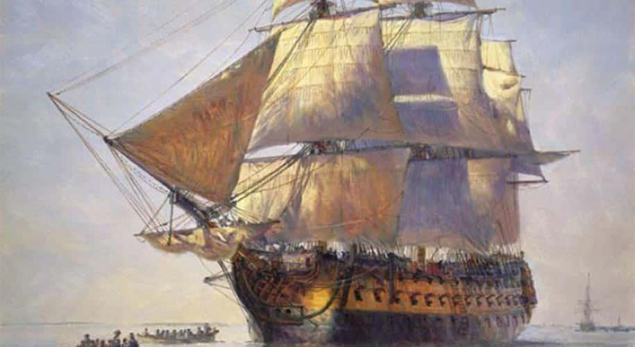 Blackbeard Ship name Quenn Anne's Revenge