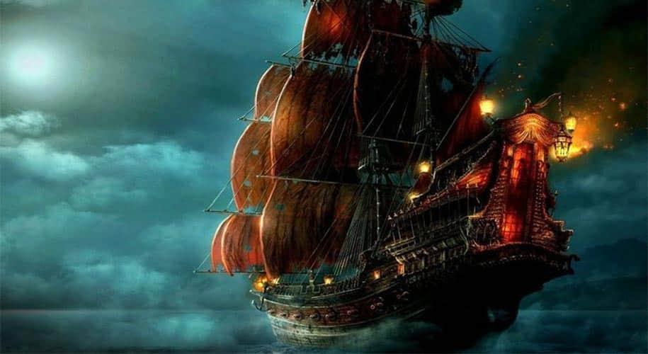 Blackbeard Ship