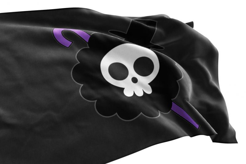 Brook Flag One Piece - pirate flag - Sons of Pirate