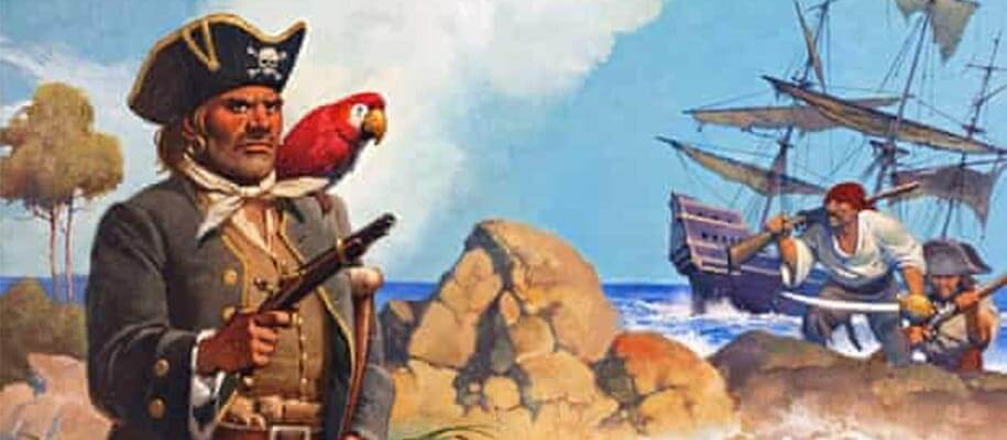 Did pirates actually have parrots ?
