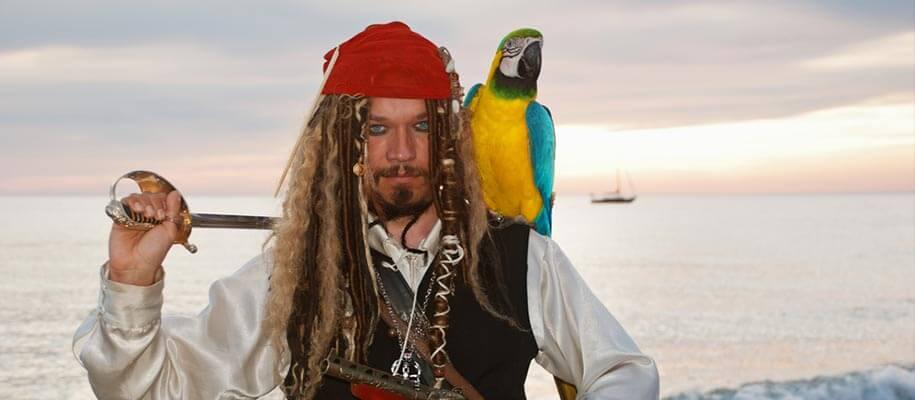 Did pirates have parrots ?