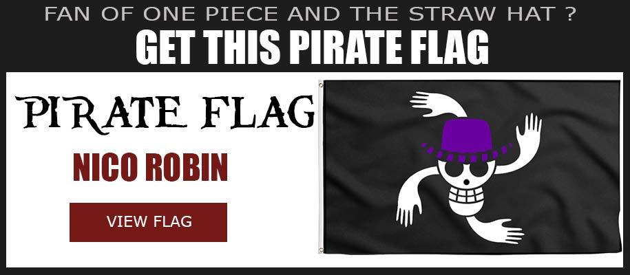 Nico Robin Jolly Roger One Piece