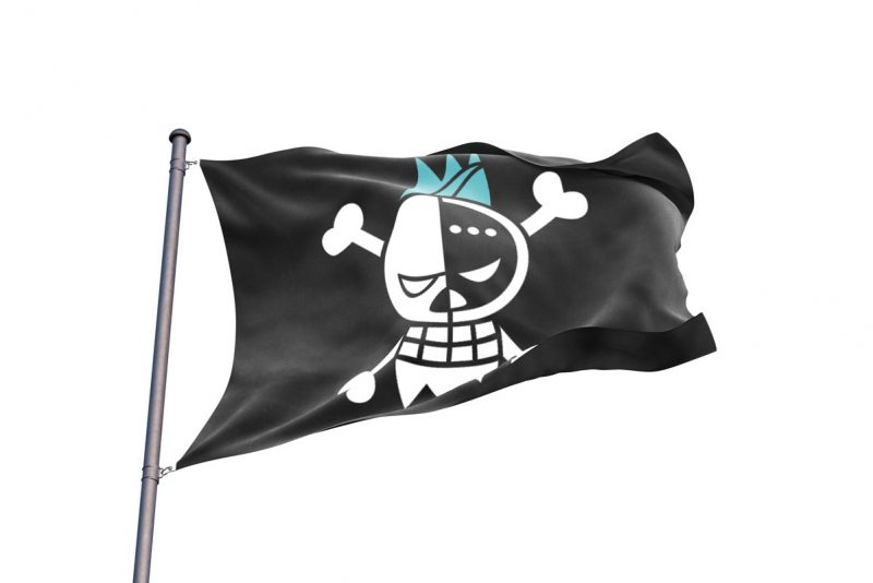 One Piece Franky Jolly Roger - Pirate Flag - Sons of Pirate