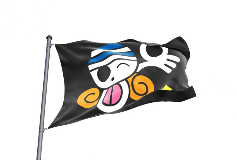 One Piece Nami Jolly Roger - Pirate Flag - Sons of Pirate