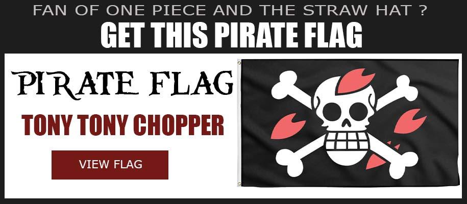 Tony Tony Chopper Jolly Roger One Piece