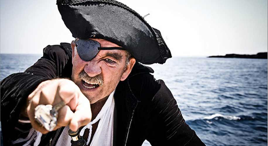 Why do pirates wear eye patches ?